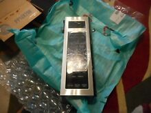 GE Microwave Control Panel W  Touch Pad  NEW Part Free Shipping  A