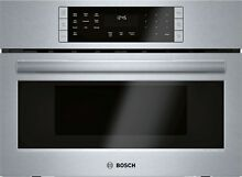 BOSCH 800 HMC87152UC 27  Speed Oven Stainless Steel Convection Cooking Perfect