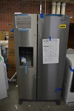 Whirlpool WRS588FIHZ 36  Stainless Side by Side Refrigerator NOB  40272 HRT