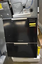 Fisher Paykel DD24DCTB9N 24  Black Double Drawer Dishwasher NOB  40476 HRT