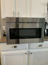 Sharp SMD2470AS Microwave Drawer Oven  24 Inch 1 2 Cu  Feet  Stainless Steel