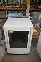 Samsung DV52J8700EW 27  White Front Load Electric Dryer NOB  12950 CLW