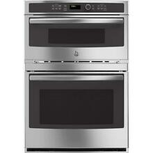 GE PROFILE SERIES PT7800SHSS 30  COMBINATION WALL OVEN   MICROWAVE OVEN