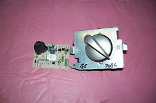 OEM GE DRYER TIMER WITH KNOB AND DRYNESS CONTROL   572D520P036 SEE PICTURES
