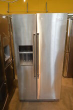 KitchenAid KRSC503ESS 36  Stainless Side by Side Refrigerator NOB CD  25242 HRT
