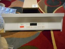 Whirlpool Oven Range Control Panel NEW Part Free shipping  B