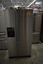 Amana ASI2175GRS 33  Stainless Side By Side Refrigerator NOB  40578 HRT