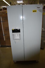 Whirlpool WRS325SDHW 36   White Side By Side Refrigerator NOB  40585 HRT