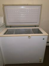 White chest freezer used good condition