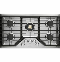 GE MONOGRAM ZGU36RSLSS 36  GAS  COOK TOP WITH DUAL FLAME  RETAIL  1930