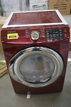 Samsung DVG45N5300F 27  Red Merlot Front Load Gas Dryer NOB  33268 CLW