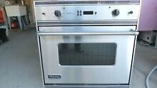 VIKING PROFESSIONAL ULTRA PREMIUM VESO107CSS  30  SINGLE WALL OVEN