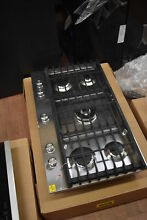 KitchenAid KCGS556ESS 36  Stainless Gas 5 Burner Cooktop NOB  35808 WLK