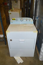 Whirlpool WED4915EW 29  White Front Load Electric Dryer NOB  15989 T2 HRT