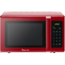 NEW Magic Chef MCD993R 0 9 cu  ft  Countertop Microwave Oven  9cf  Red