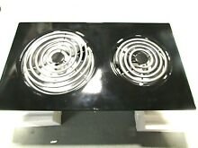 New Jenn Air Expressions Line Electric Coil Cooktop Cartridge Assy  Black AC110B