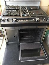Vintage Jenn Air 240V Heavy Duty Electric Range Stove W  Free Jenn Air Cookbook