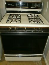 MAGIC CHEF 30  GAS RANGE STOVE USED GOOD CONDITION INCLUDES MANUAL LOCAL PICKUP