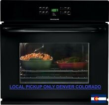 Frigidaire 30  Black Electric Built In Single Wall Oven FFEW3025PE