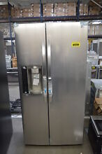 LG LSXS26326S 36  Stainless Side By Side Refrigerator NOB  33675 CLW