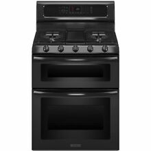 KitchenAid KGRS505XBL 30  Black Freestanding Gas Range Convection NIB  4504