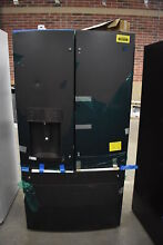 GE GFD28GELDS 36  Black Slate French Door Refrigerator NOB  39712 HRT
