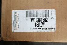 OEM W10381562 Whirlpool Washer Door Bellow NEW