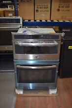 GE JT3800SHSS 30  Stainless Combo Wall Oven NOB  28380 MAD