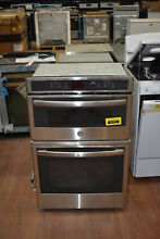 GE JK3800SHSS 27  Stainless Combination Wall Oven NOB  41212 MAD