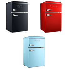 Galanz 3 1 cu ft Retro Mini Fridge  3 Colors  Free Shipping  BRAND NEW