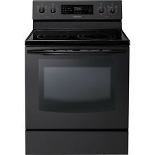 Samsung NE595R0ABBB 30  Black Freestanding Electric Range Convection Oven NIB