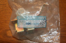 806 Genuine Valve for washer inlet rare New in Package