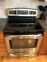 GE Profile Smooth Top Electric Range  With Convection Oven