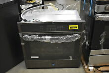 GE JT5000BLTS 30  Black Stainless Electric Single Wall Oven NOB  41426 HRT