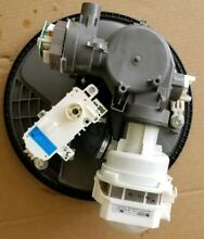 Kenmore Dishwasher Circulation Pump and connecting parts W11113839   W10314568