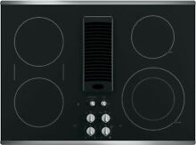 GE PP9830SJSS 30  Stainless Downdraft Electric Cooktop NIB HRT