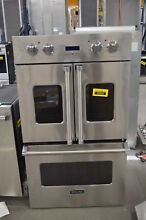 Viking VDOF730SS 30  Stainless Double Electric Wall Oven NOB  33303 MAD