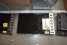 Viking VEC5366BSB 36  Stainless Smoothtop Electric Cooktop NOB  32160 CLW