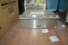 Viking VEWD527SS 27  Stainless Warming Drawer 1 4 Cu Ft NOB  28255 HL