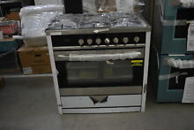 Haier HCR6250AGS 36  Stainless Professional Convection Gas Range NOB  41844 HRT