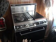 30  Jenn Air electric downdraft stove  oven