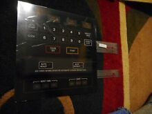GE Microwave Touch Pad Control  Key Panel  NEW Part Free Shipping  D 4