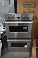 Viking VEDO1302SS 30  Stainless Double Electric Wall Oven Convec  NOB  42037 HRT