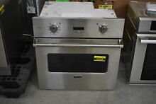 Viking VESO1302SS 30  Stainless Single Electric Wall Oven NOB  42048 MAD