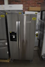 Whirlpool WRS321SDHZ 33  Stainless Side By Side Refrigerator NOB  39360 CLN