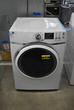 GE GFD45ESSMWW 27  White Front Load Electric Dryer NOB  42185 HRT