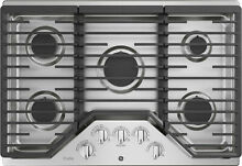 GE PGP7036SLSS 36  Stainless Built In 5 Burner Gas Cooktop NOB  42265 HRT