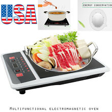 NEW Portable Digital Electric Induction Cooktop Countertop Burner Cook Top 1300W
