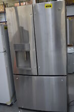 GE Profile PYE22KSKSS 36  Stainless CounterDepth French Refrigerator  29890 MAD