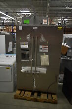 KitchenAid KBSD608ESS 48  Stainless Side by Side Refrigerator NOB  25751 HRT